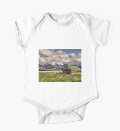 Mormon Row, Grand Teton National Park, Wyoming One Piece - Short Sleeve