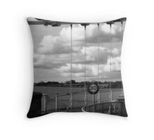 Take your head out of the clouds and suspend your speed! Throw Pillow
