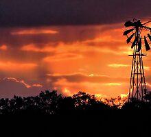 Sunset Over Melton by Stephen Ruane