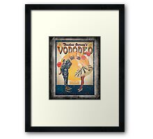 Vododeo Album (aged poster) Framed Print