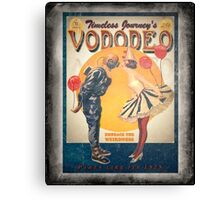 Vododeo Album (aged poster) Canvas Print