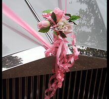 Wedding flowers and car by amylw1