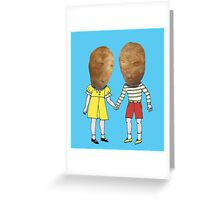 small potatoes Greeting Card