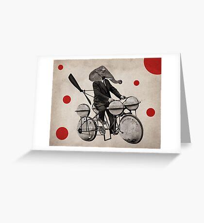 Anthropomorphic N°21 Greeting Card
