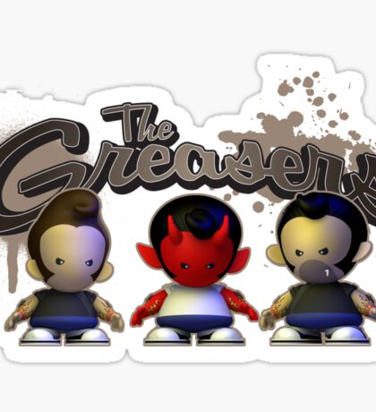 The Greasers Sticker
