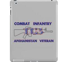 11Bravo - Combat Infantry - Afghanistan Veteran iPad Case/Skin
