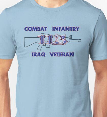 11Bravo - Combat Infantry - Iraq Veteran Unisex T-Shirt
