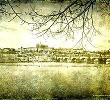 Prague Castle & Charles Bridge, Prague by David's Photoshop