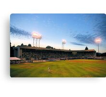 Civic Stadium sunset Canvas Print