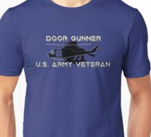 Door Gunner - Army Veteran Unisex T-Shirt