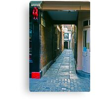 Coffee Yard - York Canvas Print