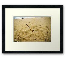 Beach Spell Framed Print