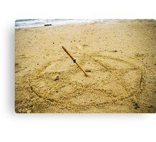 Beach Spell Canvas Print