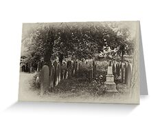 This Garden of Death #1 Greeting Card