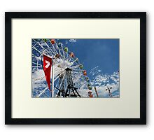 Ferry Wheel Framed Print