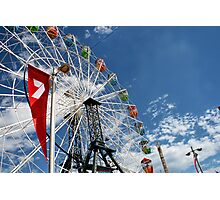 Ferry Wheel Photographic Print