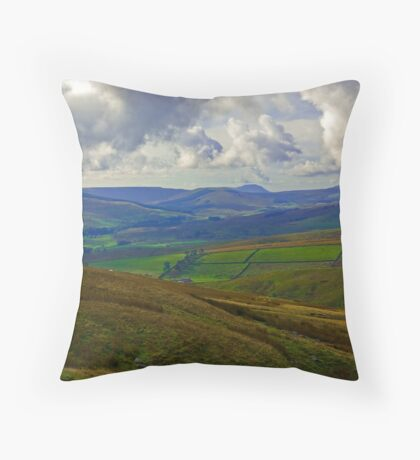 In The Dales Throw Pillow