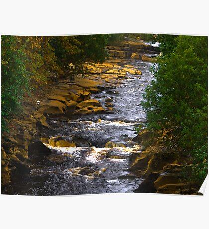 River Swale at Keld Poster
