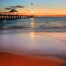 Brighton Beach by Kelvin  Wong