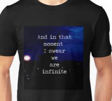 We Are Infinite--The Perks of Being a Wallflower Unisex T-Shirt