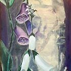 Foxglove by Birch at Yaddo by Phyllis Dixon