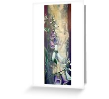 Foxglove by Birch at Yaddo Greeting Card