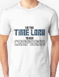 Time Lord to Her Companion T-Shirt