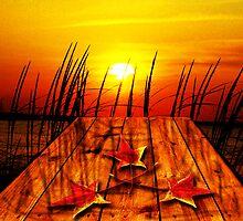 Autumn Sunset by DonDavisUK