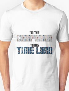 Companion to his time lord T-Shirt