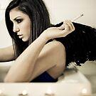 Fallen Angel in My Bathtub by Reynandi Susanto