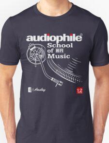 audiophile shirt Unisex T-Shirt