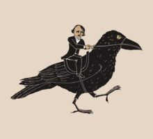Edgar Allan Poe and Raven by SusanSanford