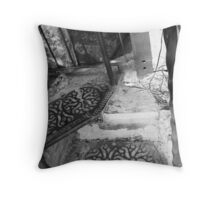 the Spiral Staircase Throw Pillow