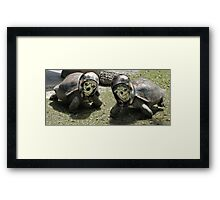Off to The Big Game Framed Print