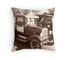 1918 and 1926 Model T Ford Series Throw Pillow
