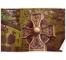 Celtic Cross - Old Calton Cemetary Poster