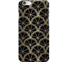 Golden Art Deco iPhone Case/Skin