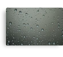 Rainy Tuesday Canvas Print