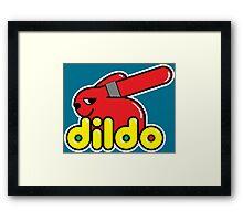 Duplo Dildo Framed Print