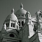 Sacre Coeur, Paris by Gursimran Sibia