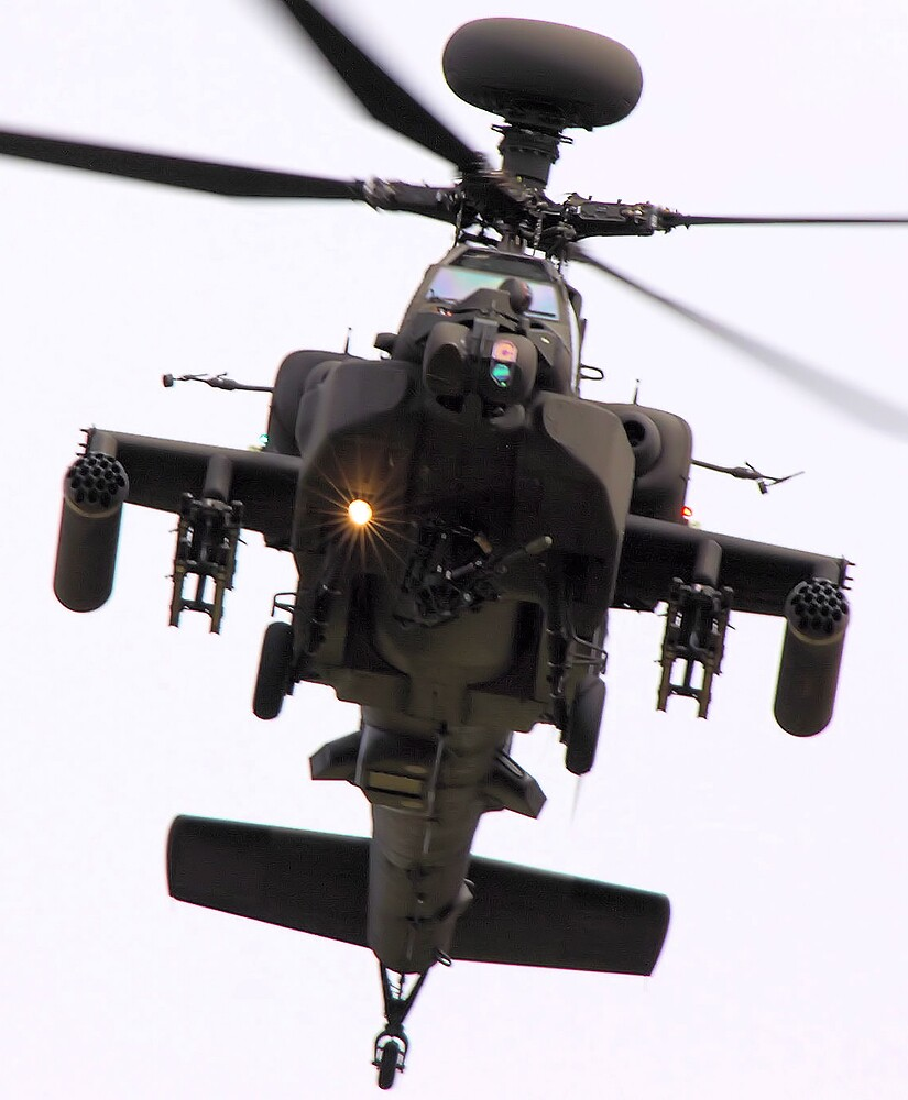 AH64D Apache Longbow by airwolfhound