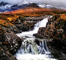Glen Brittle to the Cuillin  by Polly x