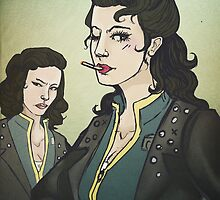 Fallout: Femme!snakes by silk-sutures