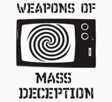 Weapons of mass deception Kids Clothes