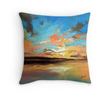 Warm Reflections Throw Pillow