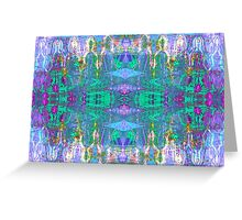 Abstract F Greeting Card