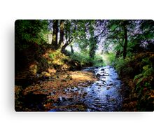 Gleno Falls (6) Canvas Print