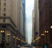 Walking in Chicago Rain Sticker