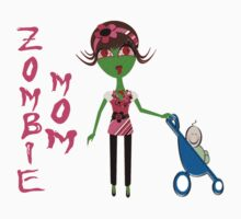 Zombie Mom by TeeArt