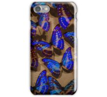 Glowing Butterflies iPhone Case/Skin